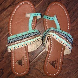 4c264fb86 Aloha Island. Cute flip flops sandals